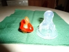залъгалка за недоносенAи сравнена с биберон за новородено