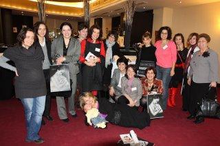 д-р Гру Нюландер, д-р Анета Попиванова, д-р Ружа Панчева и консултанти по кърмене към НАПК