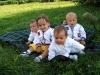 Витоша, Дани и Косето на 9м, Ерик и Максим на 1г