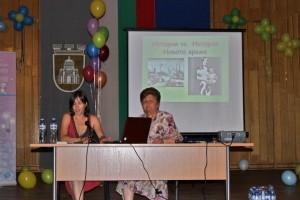 Проф. Недкова на отбелязването на ССК в Плевен през 2011 г.